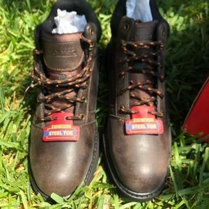Big Mac Steel Toe Boots